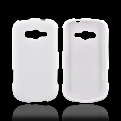 Samsung Galaxy Reverb Rubberized Hard Case - White
