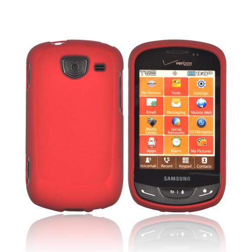 Samsung Brightside Rubberized Hard Case - Red