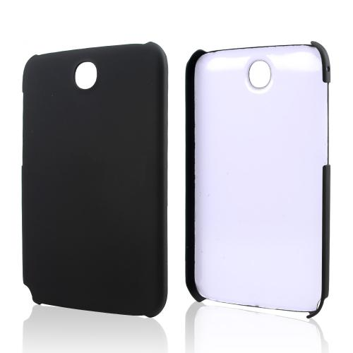 Black Rubberized Hard Case for Samsung Galaxy Note 8.0
