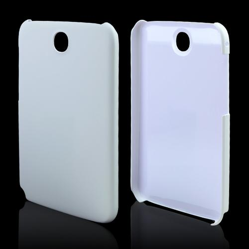 White Rubberized Hard Case for Samsung Galaxy Note 8.0