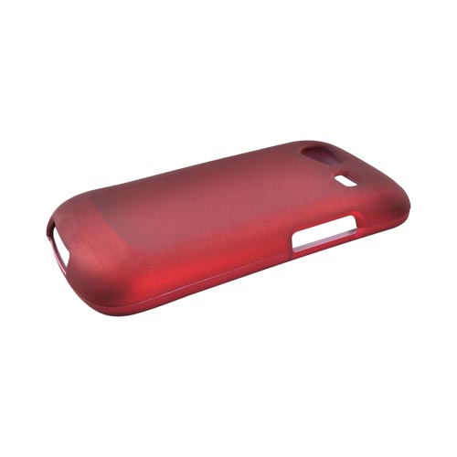 Google Nexus S Rubberized Hard Case - Red