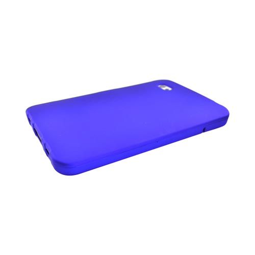 Samsung Galaxy Tab P1000 Rubberized Hard Case - Blue