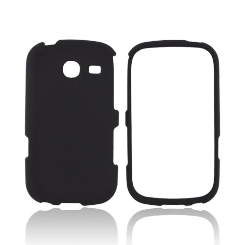 Samsung Freeform 3 Rubberized Hard Case - Black