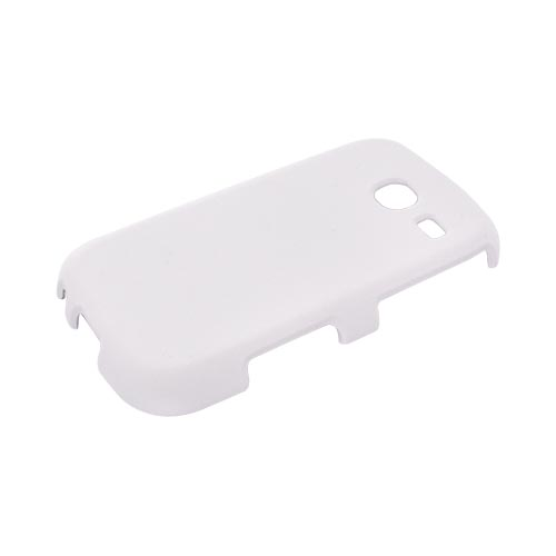 Samsung Freeform 3 Rubberized Hard Case - Frost White