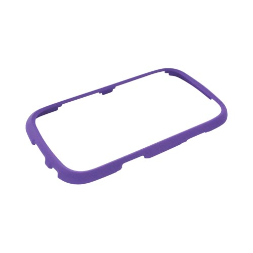 Samsung Freeform 3 Rubberized Hard Case - Purple