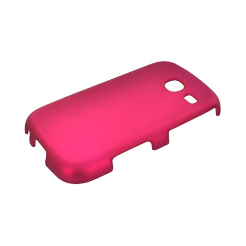 Samsung Freeform 3 Rubberized Hard Case - Rose Pink