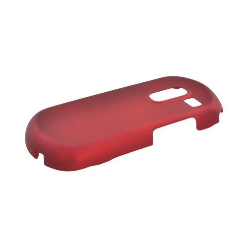 Samsung Messager III R570 Rubberized Hard Case - Red