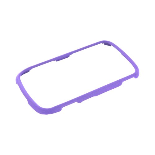 Samsung Rookie R720 Rubberized Hard Case - Purple