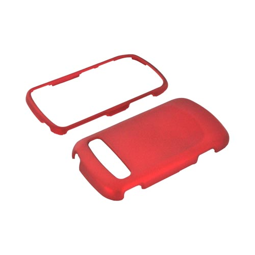 Samsung Rookie R720 Rubberized Hard Case - Red