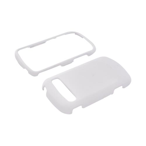 Samsung Rookie R720 Rubberized Hard Case - Solid White