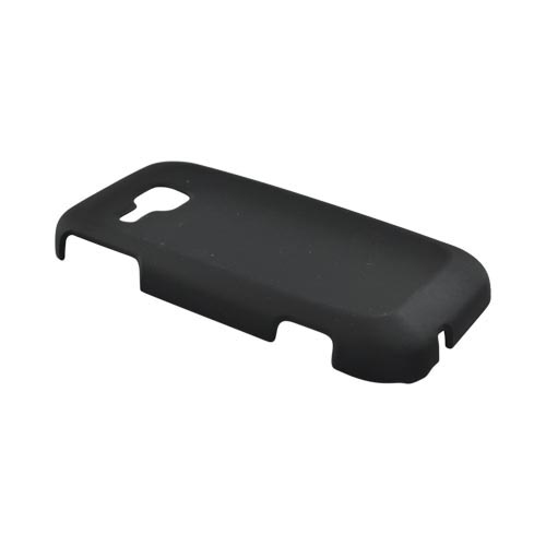 Samsung Galaxy Indulge R910 Rubberized Hard Case - Black