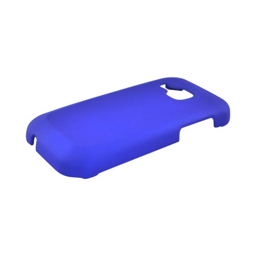 Samsung Galaxy Indulge R910 Rubberized Hard Case - Blue