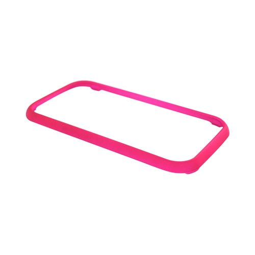 Samsung Galaxy Indulge R910 Rubberized Hard Case - Hot Pink