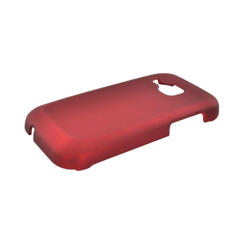Samsung Galaxy Indulge R910 Rubberized Hard Case - Red