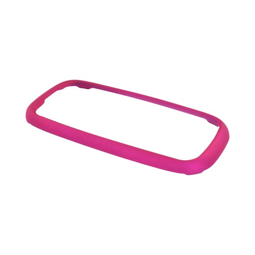 Samsung T369 Rubberized Hard Case - Rose Pink