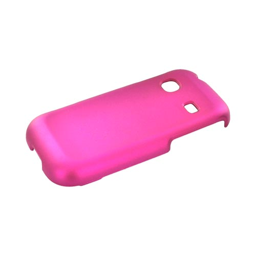 Samsung Gravity TXT T379 Rubberized Hard Case - Rose Pink