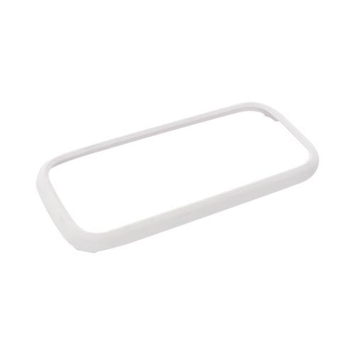 Samsung Gravity TXT T379 Rubberized Hard Case - Solid White