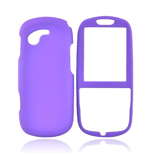 Samsung Gravity 3 Rubberized Hard Case - Purple