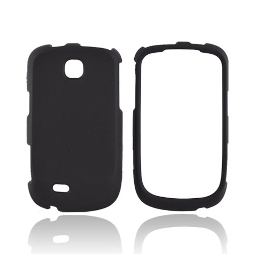 Samsung Dart T499 Rubberized Hard Case - Black