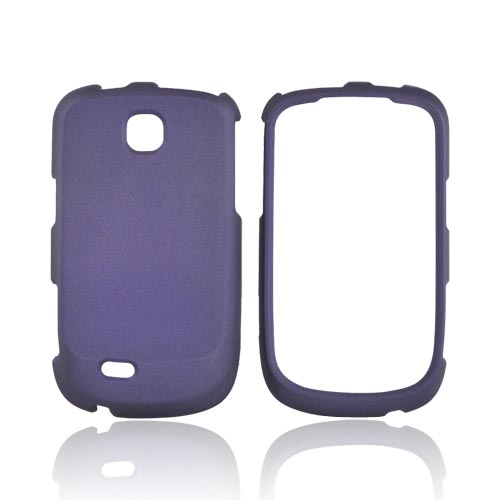 Samsung Dart T499 Rubberized Hard Case - Purple