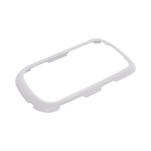 Samsung Dart T499 Rubberized Hard Case - Solid White