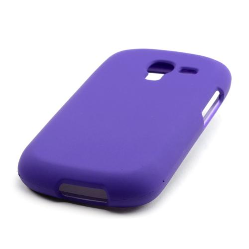 Purple Rubberized Hard Case for Samsung Galaxy Exhibit