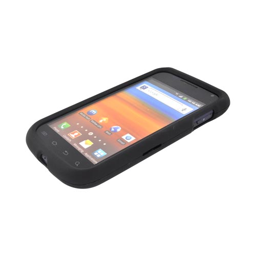 Samsung Exhibit 2 4G Rubberized Hard Case - Black