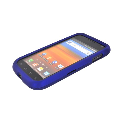 Samsung Exhibit 2 4G Rubberized Hard Case - Blue