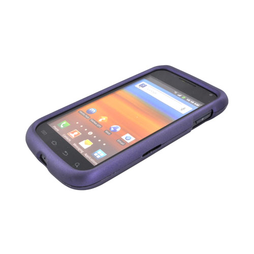 Samsung Exhibit 2 4G Rubberized Hard Case - Purple