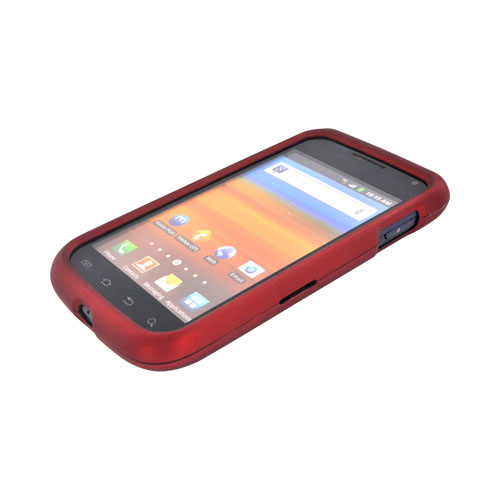 Samsung Exhibit 2 4G Rubberized Hard Case - Red