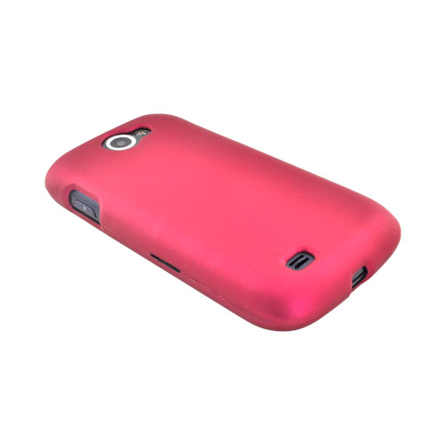 Samsung Exhibit 2 4G Rubberized Hard Case - Rose Pink