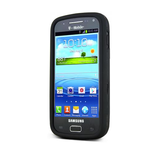 Black Rubberized Hard Case for Samsung Galaxy S Relay 4G