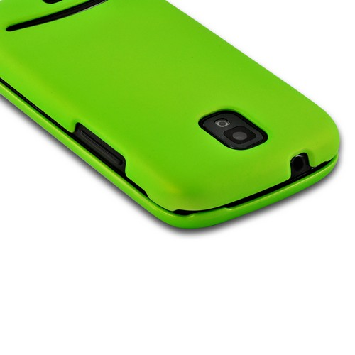 Neon Green Rubberized Hard Case for Samsung Galaxy S Relay 4G