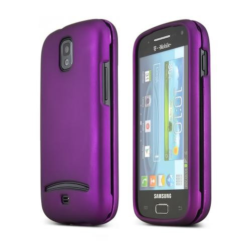 Purple Rubberized Hard Case for Samsung Galaxy S Relay 4G