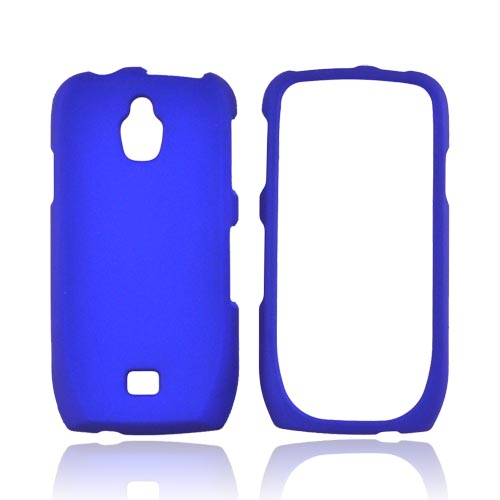 Samsung Exhibit T759 Rubberized Hard Case - Blue