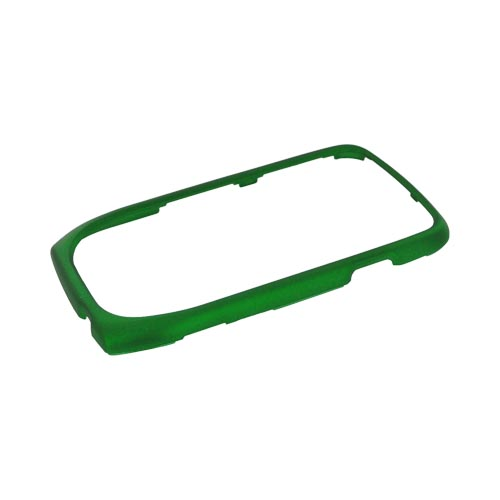 Samsung Exhibit T759 Rubberized Hard Case - Green