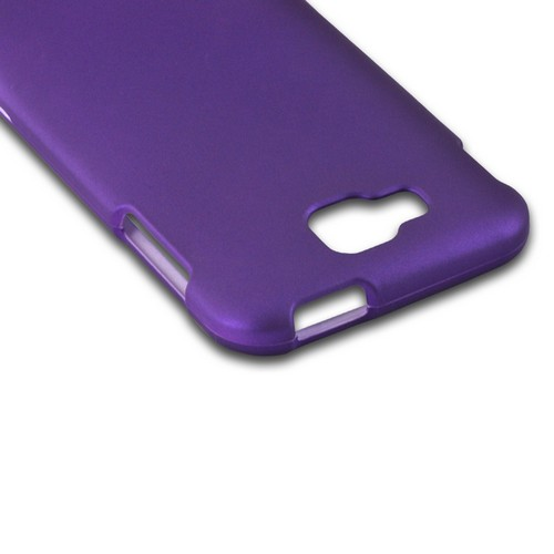 Purple Rubberized Hard Case for Samsung ATIV S T899