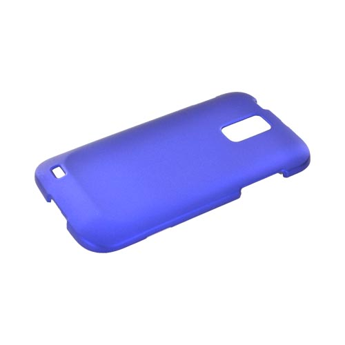 T-Mobile Samsung Galaxy S2 Rubberized Hard Case - Blue