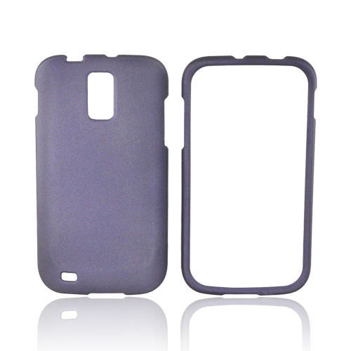 T-Mobile Samsung Galaxy S2 Rubberized Hard Case - Purple