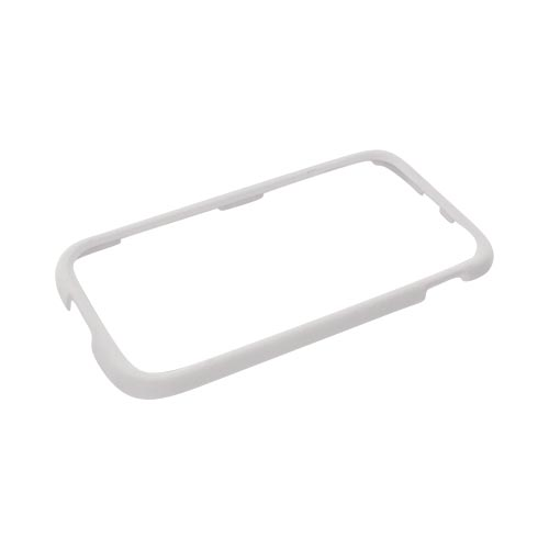 T-Mobile Samsung Galaxy S2 Rubberized Hard Case - Solid White