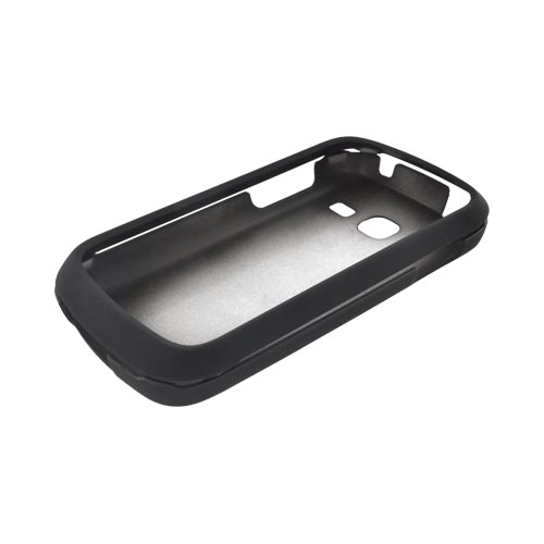 Samsung Transfix Rubberized Hard Case - Black