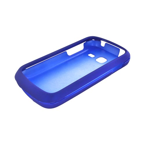 Samsung Transfix Rubberized Hard Case - Blue