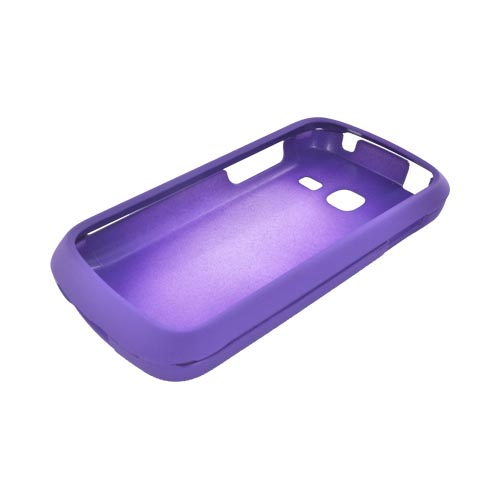 Samsung Transfix Rubberized Hard Case - Purple