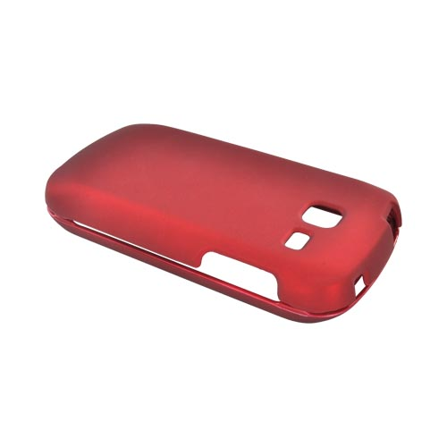 Samsung Transfix Rubberized Hard Case - Red