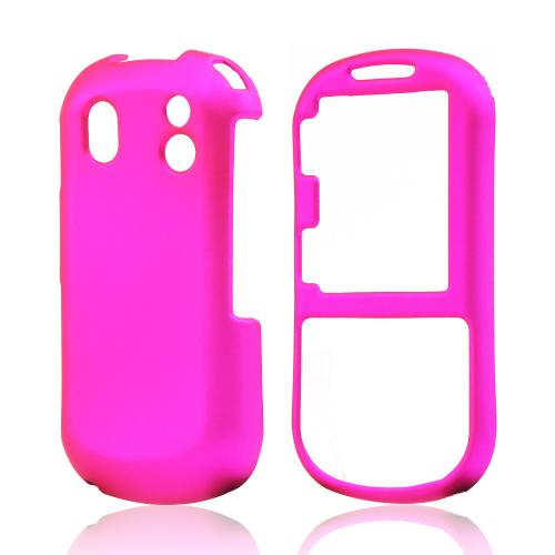 Samsung Intensity 2 U460 Rubberized Hard Case - Hot Pink