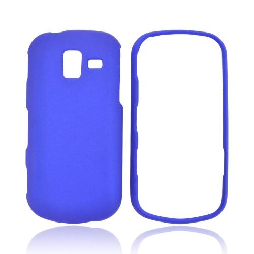 Samsung Intensity III Rubberized Hard Case - Blue