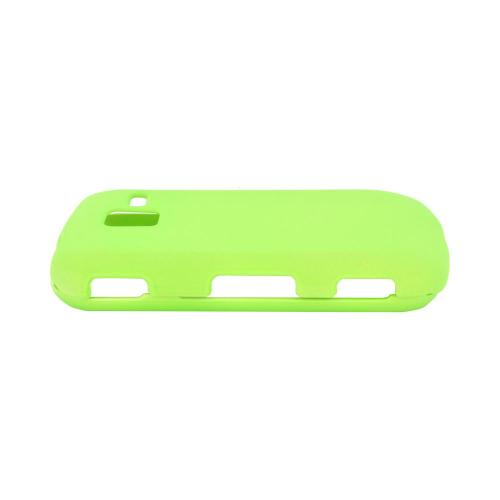 Samsung Intensity III Rubberized Hard Case - Neon Green