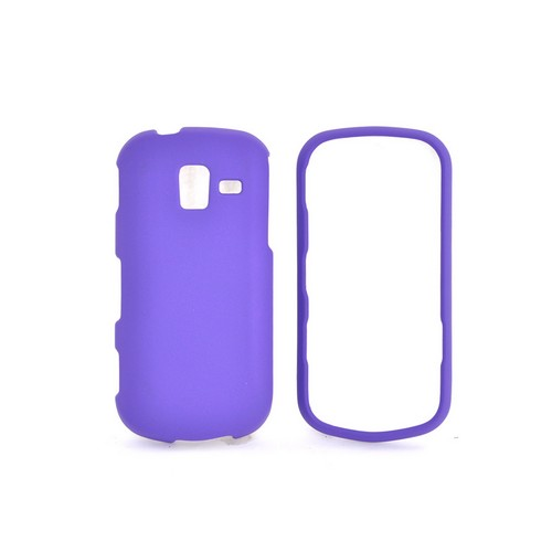 Samsung Intensity III Rubberized Hard Case - Purple