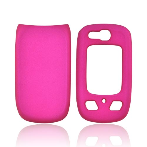 Samsung Convoy 2 U660 Rubberized Hard Case - Rose Pink