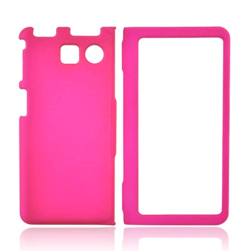 Sanyo Innuendo 6780 Rubberized Hard Case - Hot Pink